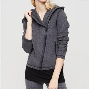 Lou & Grey Loft Asymmetrical Sweatshirt Hoodie